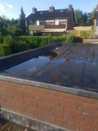Plat dak met koepel Kerkrade