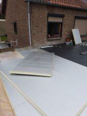 Plat dak met isolatie Landgraaf